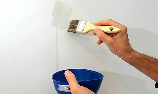 Грунтовка для стен своими руками из обойного клея