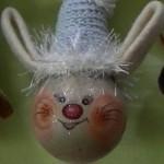 Новогодние игрушки с бисера своими руками