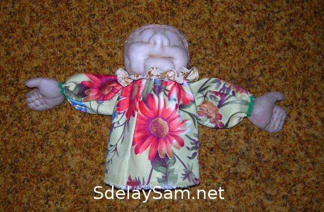 Кукла бабушка своими руками