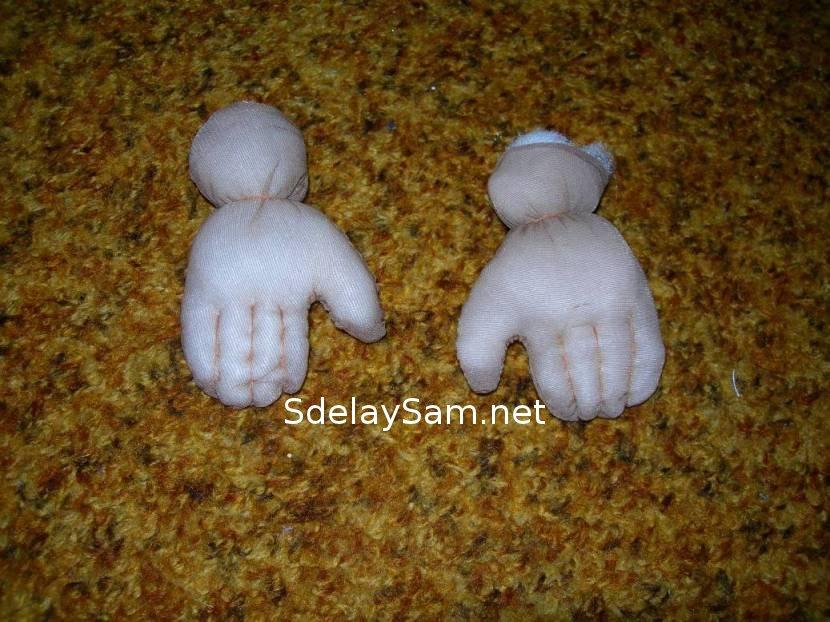 Кукла из капрона своими руками фото 239
