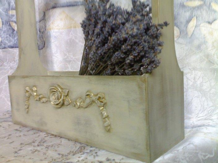 Цветы в стиле прованс своими руками мастер класс 17