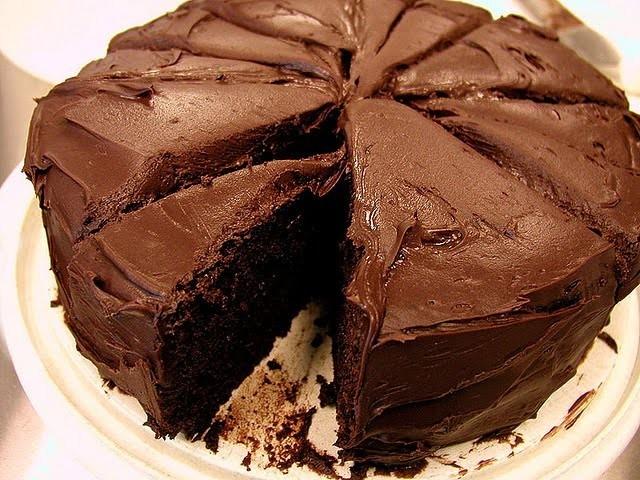 Шоколадный торт своим руками