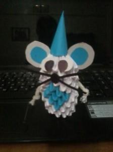Создаем мышку - оригами