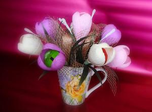 Букеты из цветов своими руками