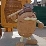 Памятник картофелю в Мариинске