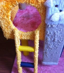 Как сделать домик для кошки - вход в домик