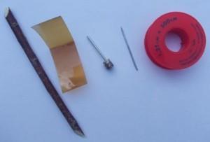 Как сделать дротик своими руками - Необходимые инструменты