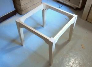 Стол для кухни своими руками - основание стола