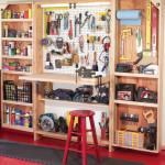 Шкаф для инструментов своими руками