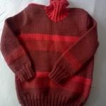 Как связать простой детский свитер своими руками