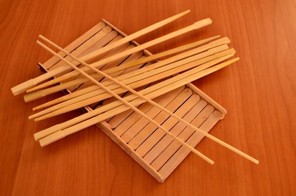 Подарки из китайских палочек