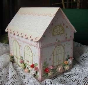Как сделать домик из бумаги своими руками - Украшаем домик