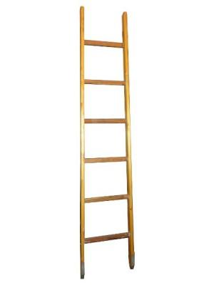 Приставная деревянная лестница своими руками