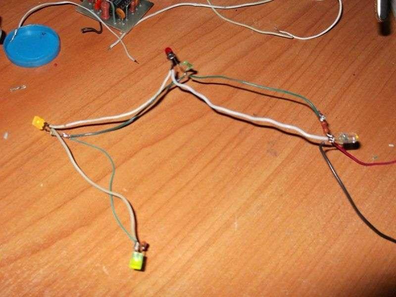 Как сделать электрическую гирлянд