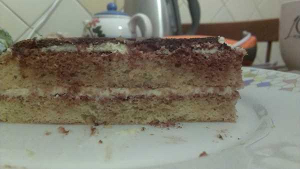 Торт тирамису в домашних условиях - в разрезе