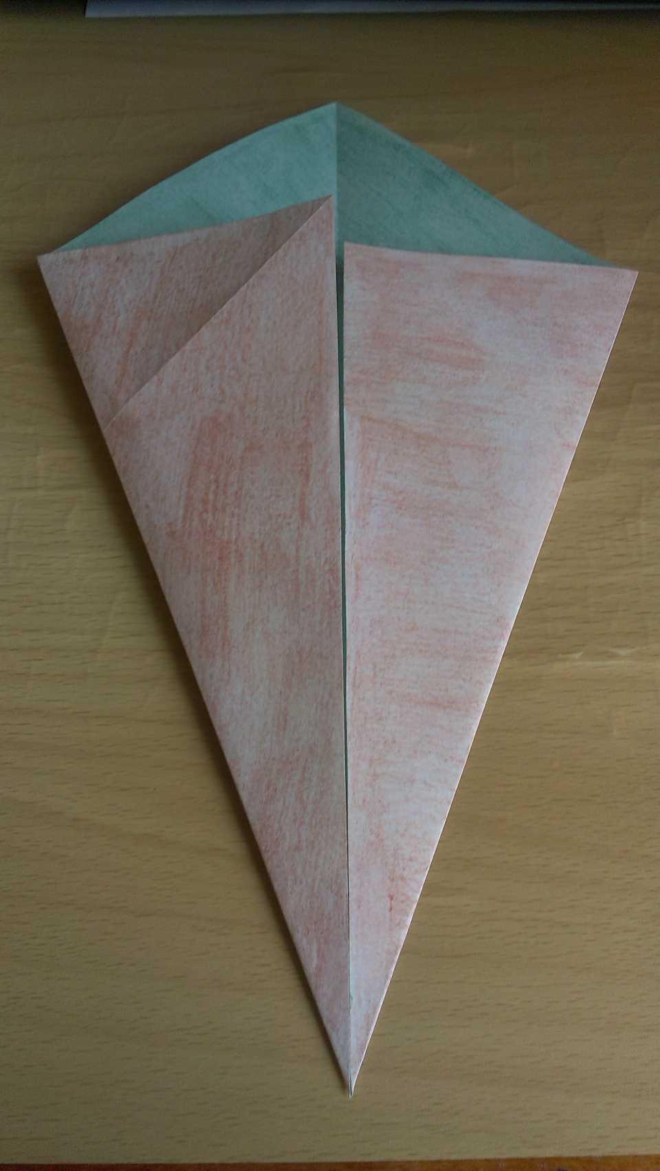 Оригами Мастер Йода своими руками 3