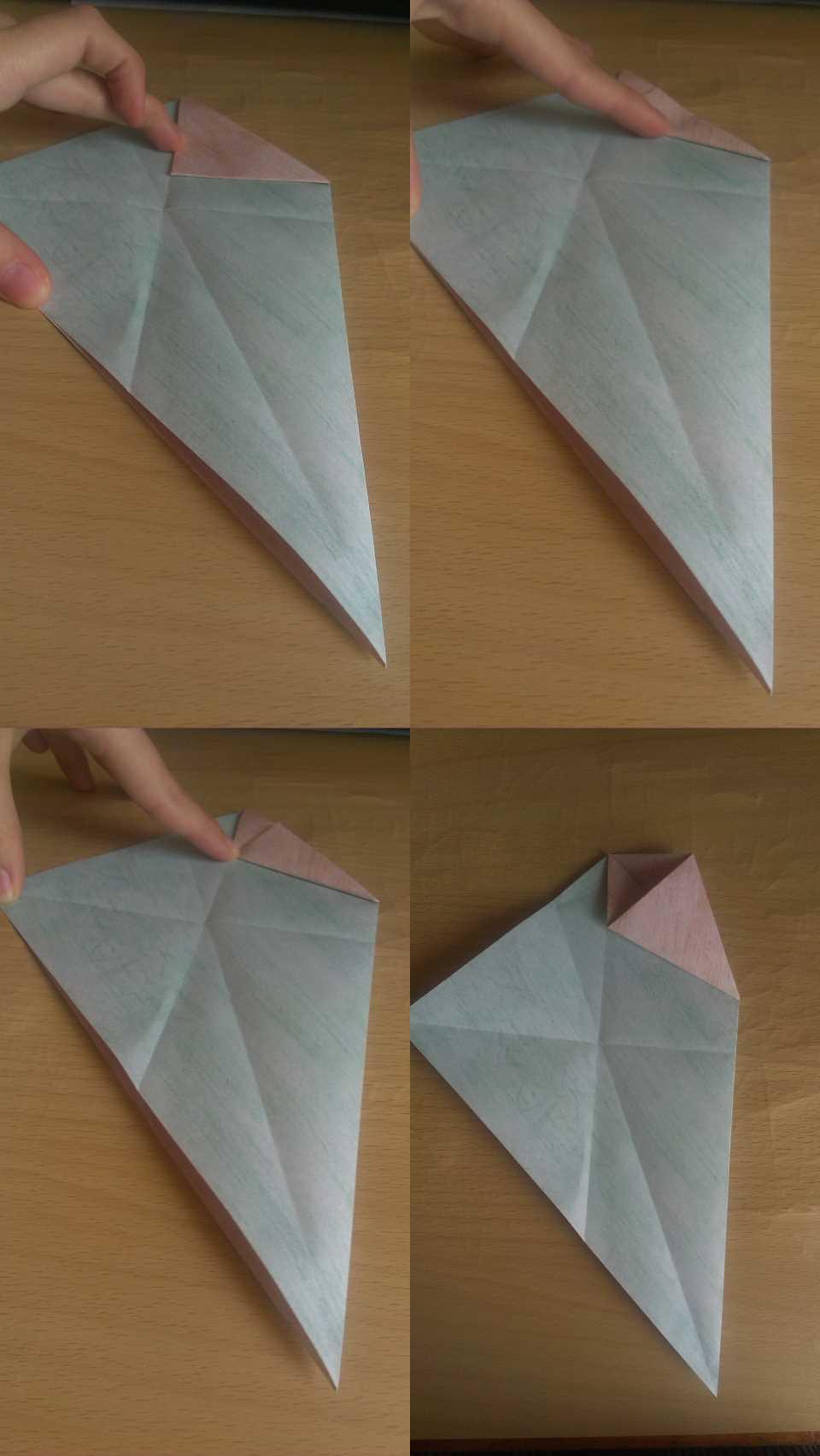 Оригами Мастер Йода своими руками 6