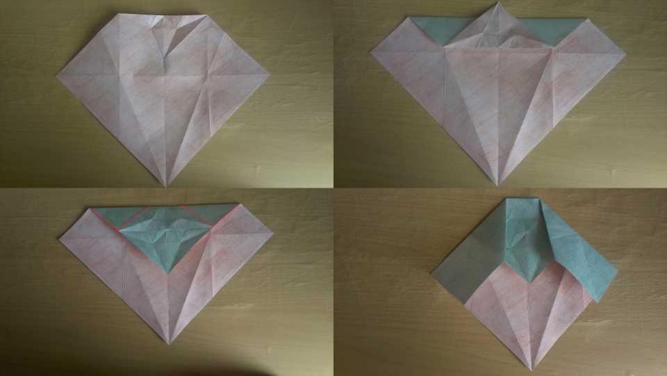 Оригами Мастер Йода своими руками 8