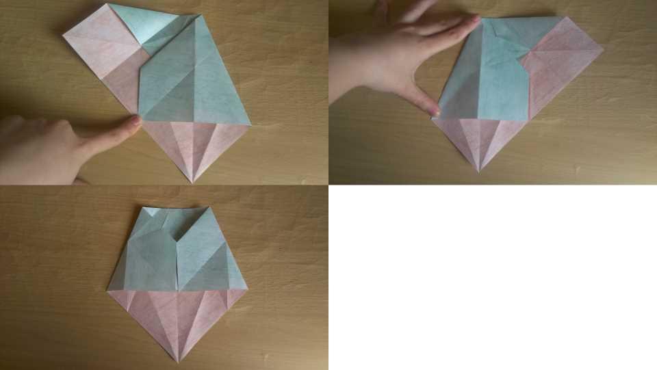 Оригами Мастер Йода своими руками 9
